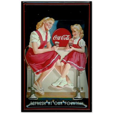 """Coca-Cola  our fountain"""" -(20x30cm)"""