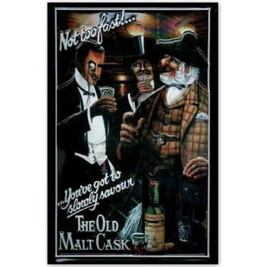 The Old Malt Cask-(20x30cm)
