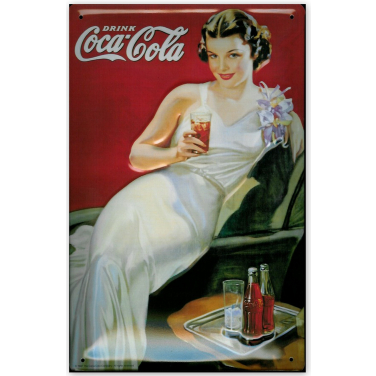Coca-Cola Night out Lady-(20x30cm)