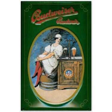 Budweiser Budvar -grün-(20x30cm)