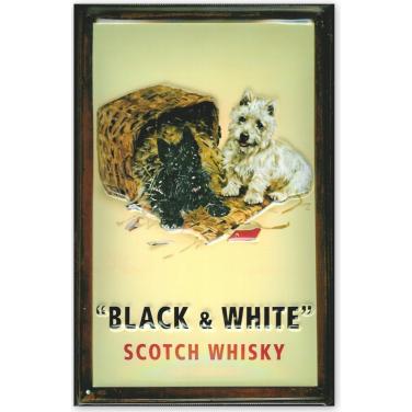 Black&White Scotch Whiskey-(20x30cm)