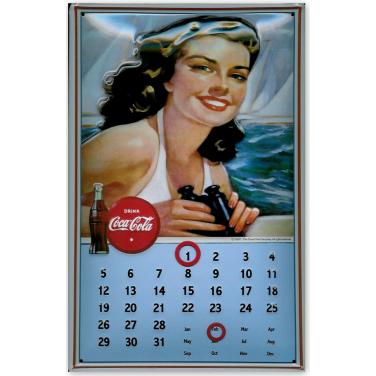 "Coca-Cola Calendar ""Drink -(20x30cm)"