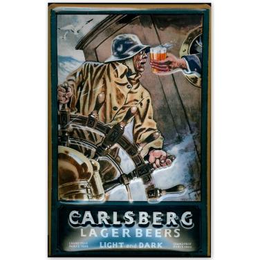Carlsberg Lager Beers - Sailor-(20x30cm)