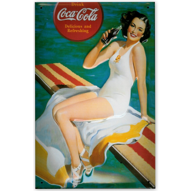 Coca-Cola Pool-(20x30cm)