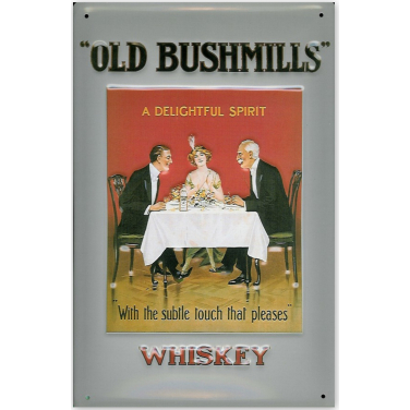 Old Bushmills Whiskey -Table-(20x30cm)