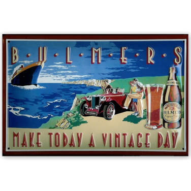 Bulmers - a vintage day-(20x30cm)