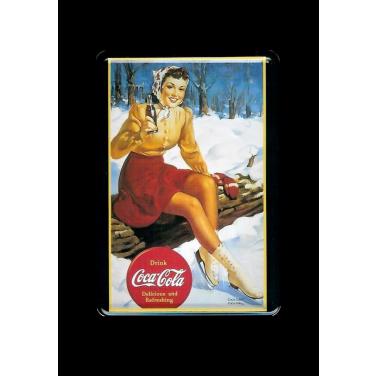 Coca-Cola ice skates-(10x15cm)