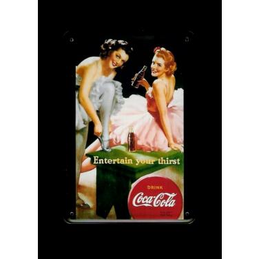 Coca-Cola Ballerinas-(10x15cm)