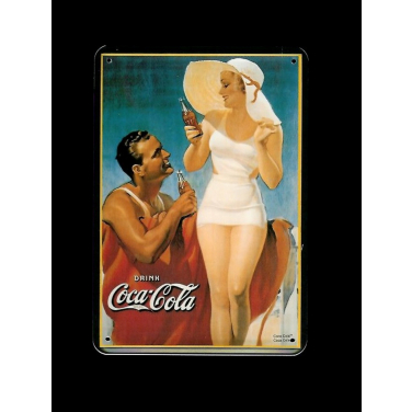 Coca-Cola  on the beach-(10x15cm)