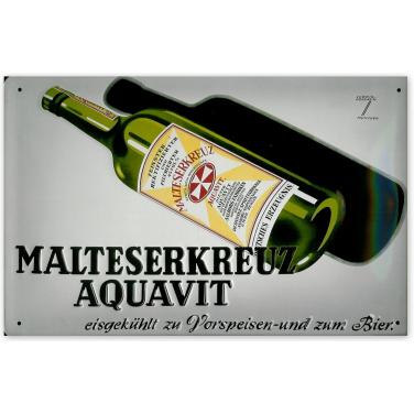 Maltesrkreuz Aquavit -(20x30cm)