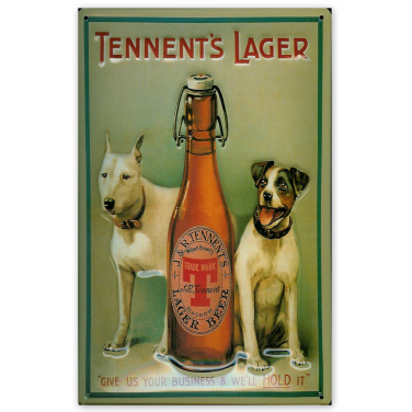 Tennent's Lager -Dogs-(20x30cm)