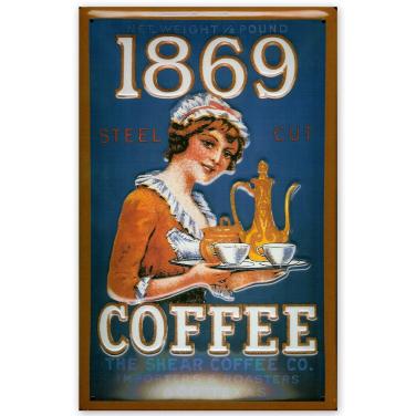 1869 Coffee -(20x30cm)