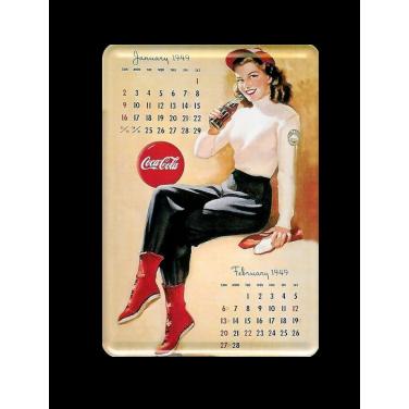 Coca-Cola January 1949-(10x15cm)
