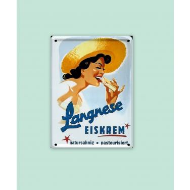 Langnese Eiskrem-(8 x 11cm)