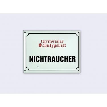 Nichtraucher -(11 x 8cm)