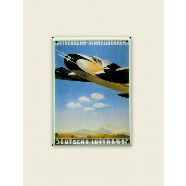 Deutsche Lufthansa-(8 x 11cm)