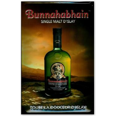 Bunnahabhain Whiskey-(20x30cm)