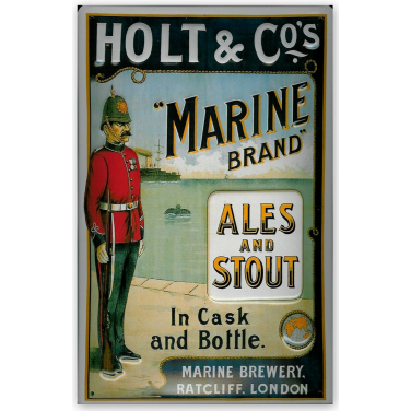 Holt & Co.'s Marine Brand-(20x30cm)