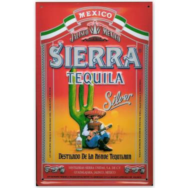 Sierra Tequila - Silver -(20x30cm)