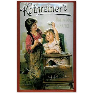 Kathreiner's Frau & Kind-(20x30cm)