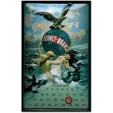 Fernet-Branca Calendar-(20x30cm)