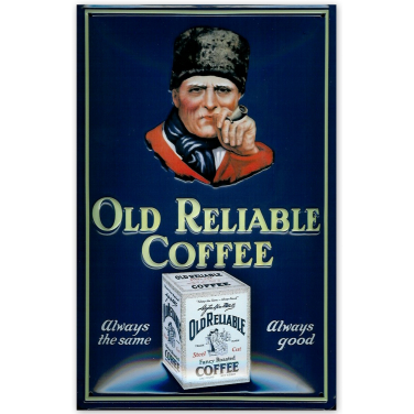 Old Reliable Coffee-(20x30cm)