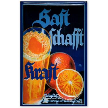 Saft Schafft Kraft-(20x30cm)