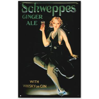 Schweppes Ginger Ale-(20x30cm)
