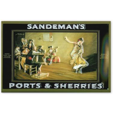 Sandemans - Flamenco-(20x30cm)