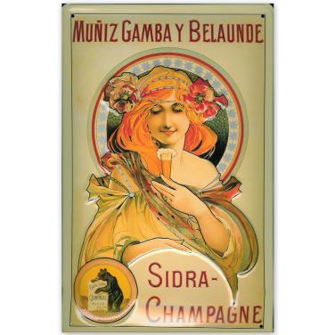Sidra-Champagne -(20x30cm)