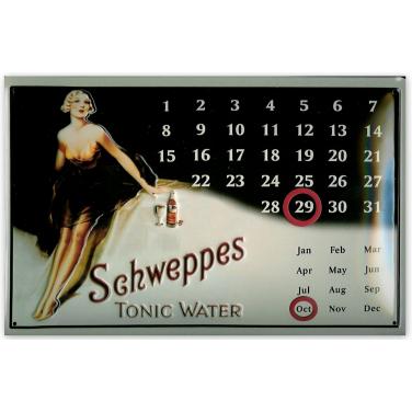 Schweppes calendar-(20x30cm)