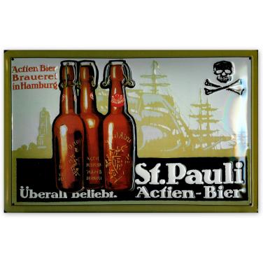 St. Pauli Actien-Bier Brauerei-(20x30cm)