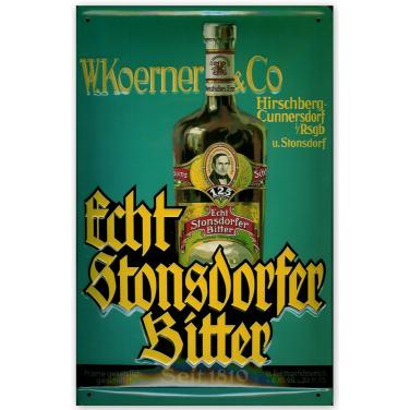 Echt Stonsdorfer Bitter-(20x30cm)