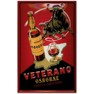 Veterano Osborne -Bull-(20x30cm)