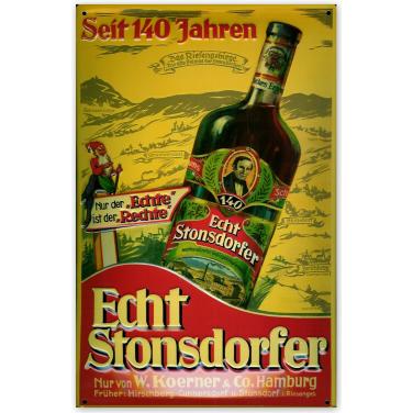 Echt Stonsdorfer-(20x30cm)