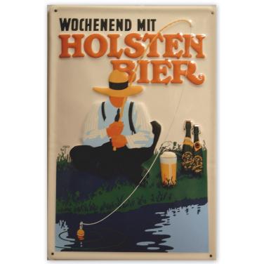 Wochenend  Holsten Bier -(20x30cm)