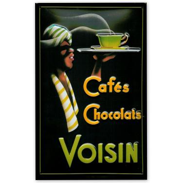 Cafes Chocolats Voisin -(20x30cm)