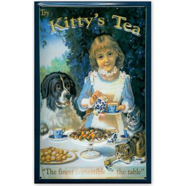 Kitty's Tea-(20x30cm)