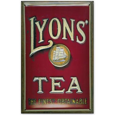 Lyon's Tea - Ship -(20x30cm)