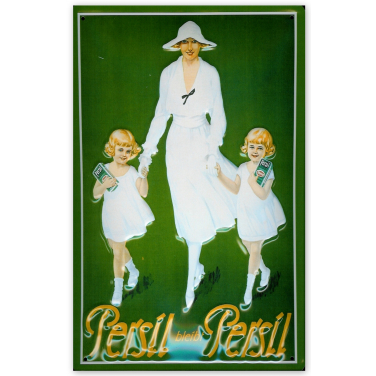 Persil  - Mother with twins-(20 x 30cm)