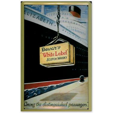 Dewar's White Label-Ship-(20x30cm)