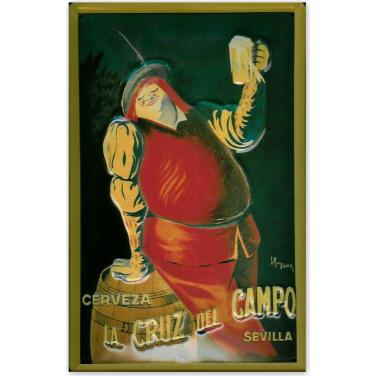 Cerveza la Cruz del campo-(20x30cm)