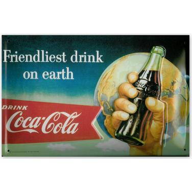 Coca-Cola Friendliest Drink -(20x30cm)