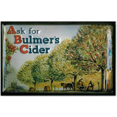 Bulmer's Cider - Apple orchard-(20x30cm)