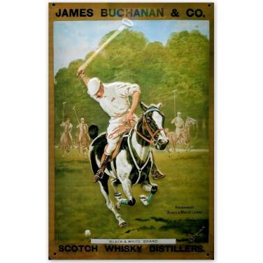 James Buchanan & Co.- Polo-(20x30cm)