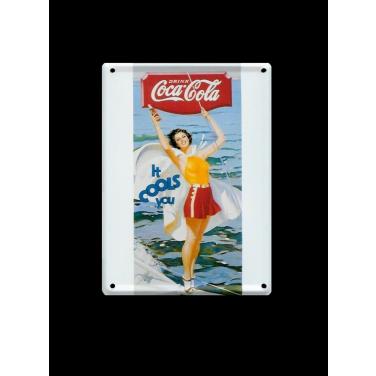 Coca-Cola It cools you-(8x11cm)