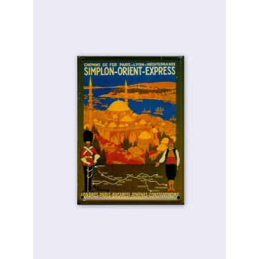 Simplon Orient Express-(8 x 11cm)