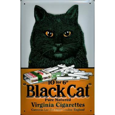Black Cat -(20x30cm)