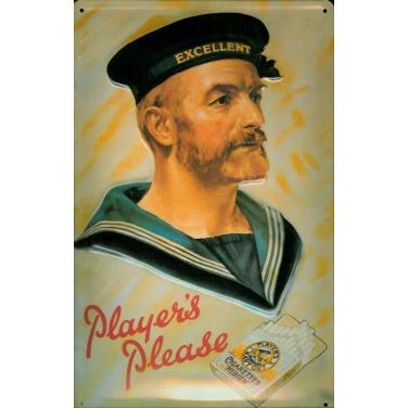 Player's Please Man-(20x30cm)