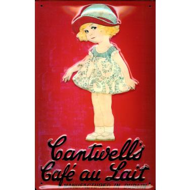Cantwell's Café au Lait Manufactured in Dubli